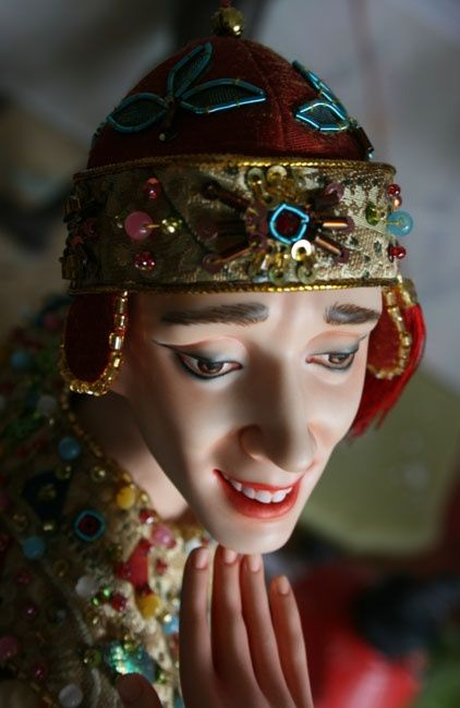 Dolls. Hand work (28 pics)