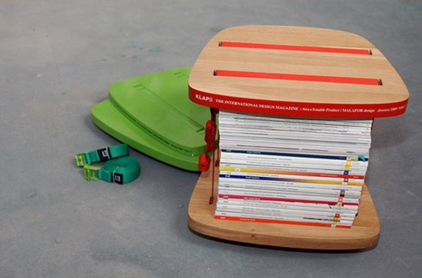 Cool table for magazines (5 pics)