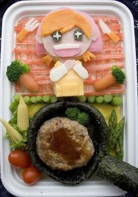 Creative school lunches (10 pics)