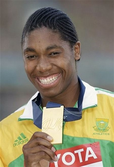 Athlete Caster Semenya  - man or woman? (20 pics)