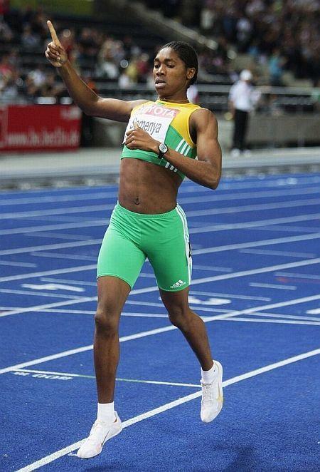 Athlete Caster Semenya  - man or woman? (20 pics)