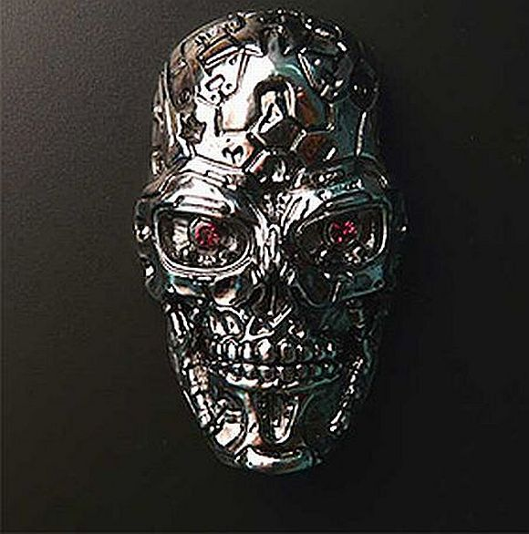 Terminator flash drive (4 pics)
