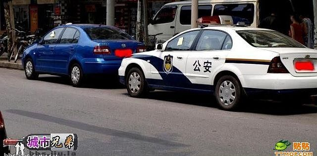 Severe Chinese police (6 pics)