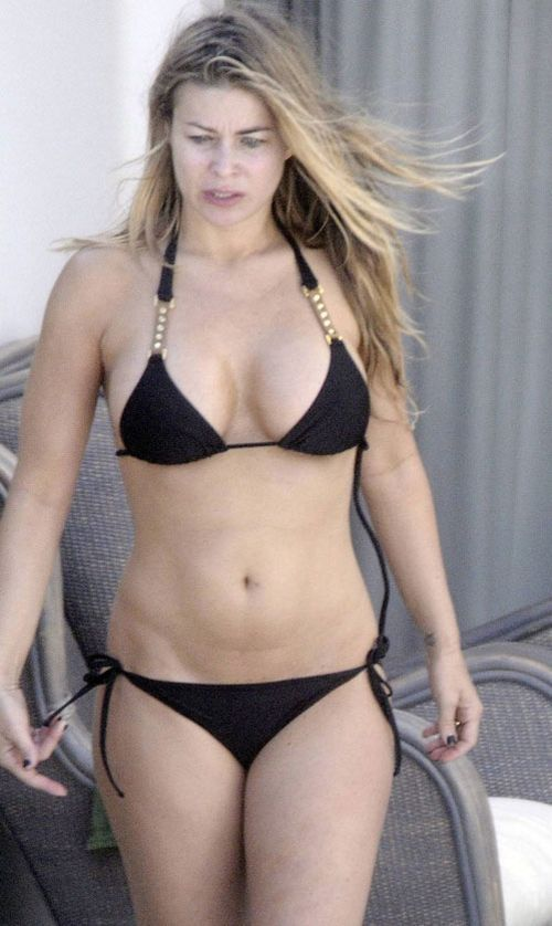Carmen Electra without make-up in bikini (6 pics) - Izismile.com