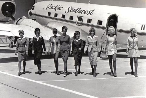 Flight Attendants From The Past 50 Pics Izismile Com