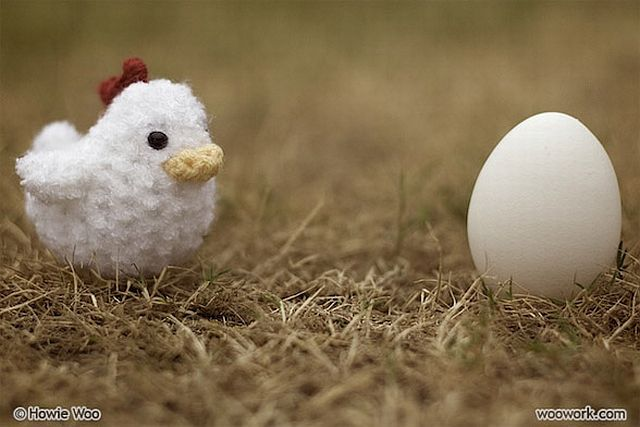 The cutest baby animals in crochet (80 pics)