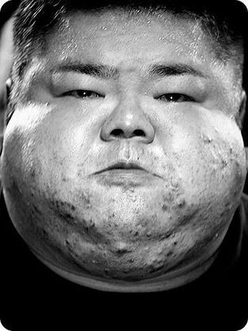 Faces of powerlifting (8 pics)