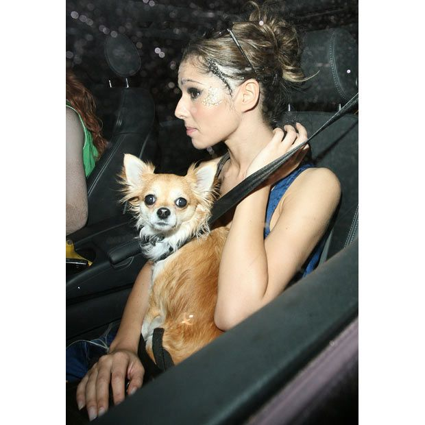 Celebrities and their pets (16 pics)