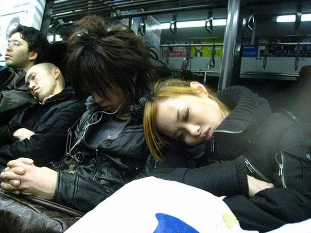 People are sleeping everywhere (27 pics)