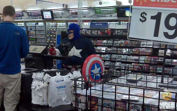 What can we see in Wal-Mart stores? (35 pics)