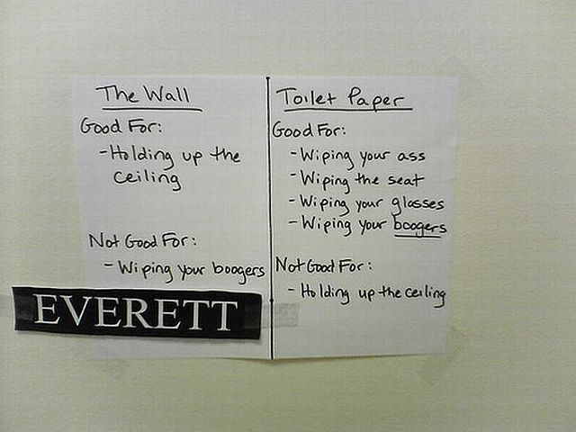 Funny notes left for people sharing the same space! (44 pics)