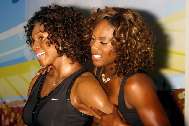 Serena Williams and her was figure (13 pics)