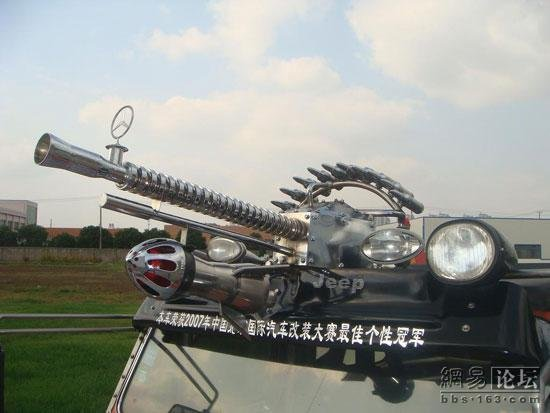 Chinese pimped SUV (12 pics)