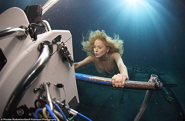 Underwater photography studio (11 pics)