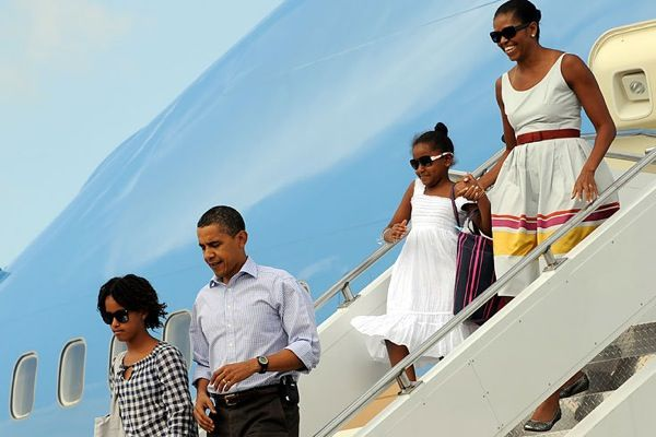 The US President and his family (31 pics)
