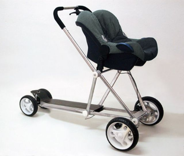 New types of baby buggies (5 pics)