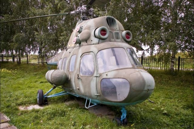 Helicopter museum in Torzhok, Russia (36 pics)