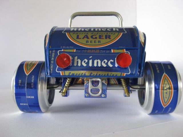 Cars from aluminium cans (52 pics)