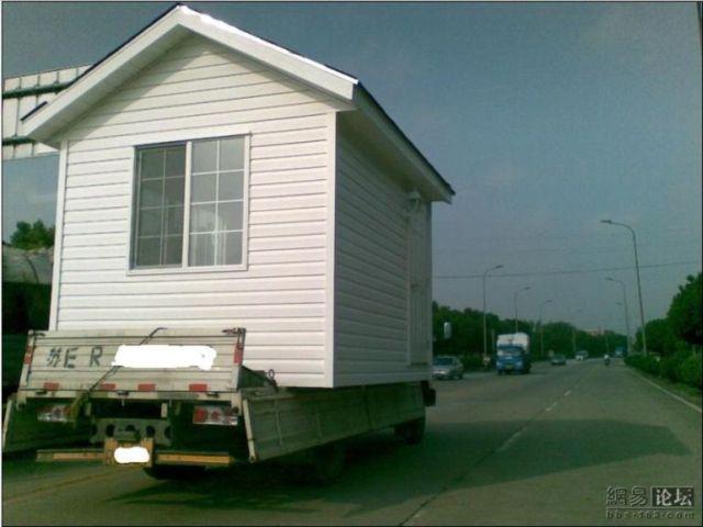 House transportation (5 pics)