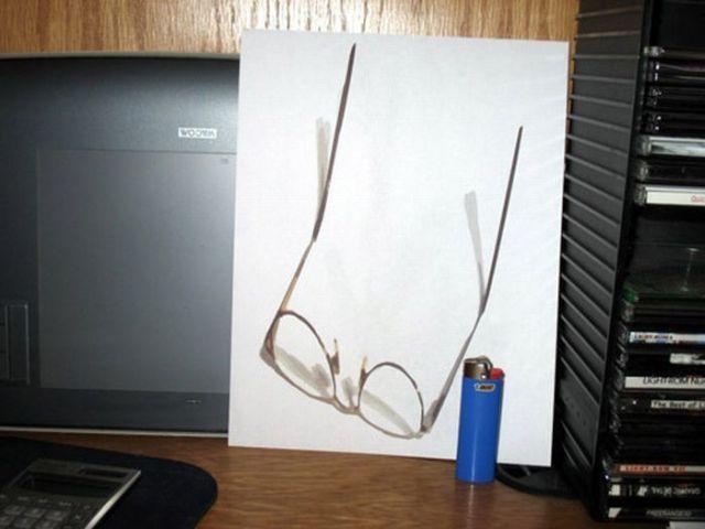 3D images - amusing illusions (10 pics)