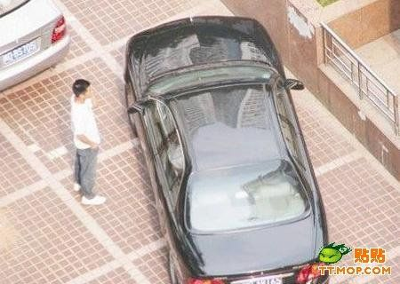 Chinese car thief (4 pics)