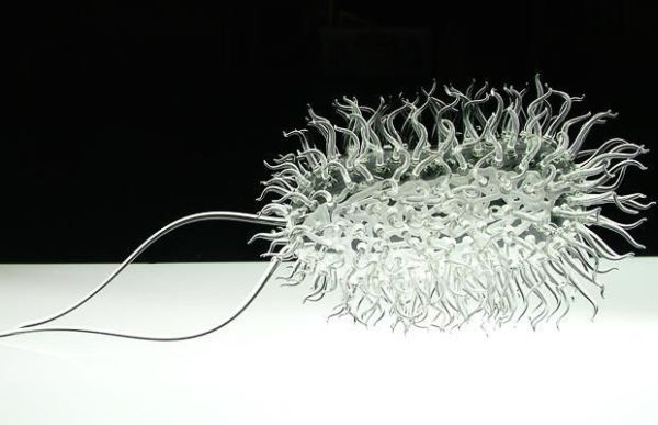 Stunning glass sculptures representing deadly viruses! (11 pics)