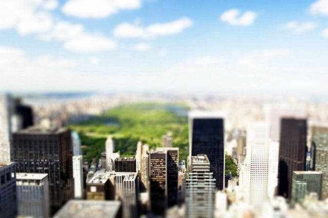 Tilt-shift photography collection (84 pics)