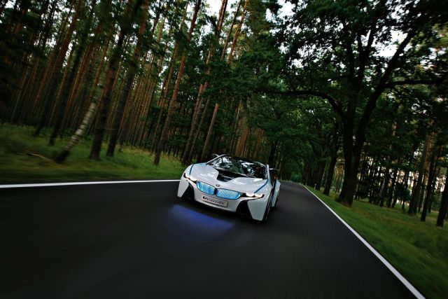 New concept car - BMW Vision EfficientDynamics (25 pics + 1 video)