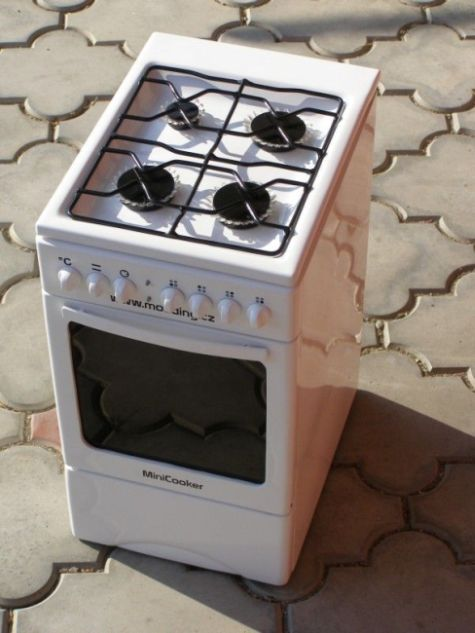 Very cool PC modding – mini gas cooker (50 pics)