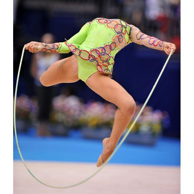 Rhythmic gymnastics championships in Japan (22 pics)
