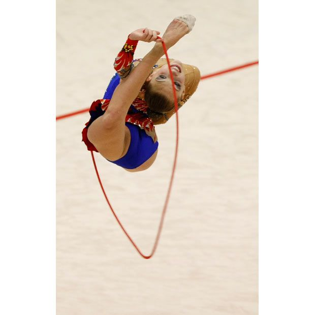 Rhythmic gymnastics championships in Japan (22 pics)