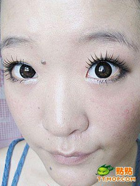 Miracles of makeup in Chinese manner (12 pics)
