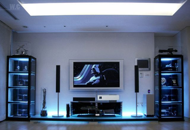 The apartment of a Star Wars fan (22 pics)