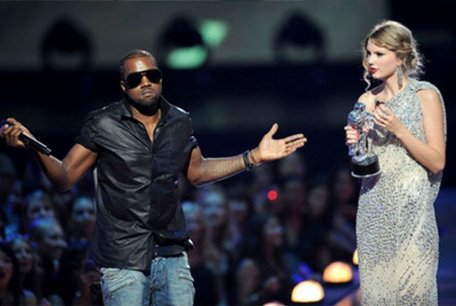 Kanye West ruined it for Taylor Swift at MTV Video Music Awards (7 pics + 2 video)