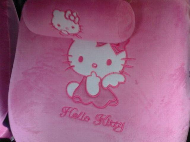Meet Hello Kitty Car (8 pics)