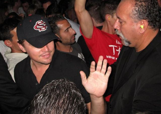 Leonardo DiCaprio having a night out at a nightclub (10 pics)