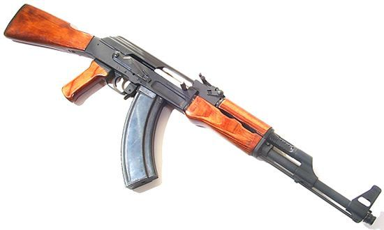 AK-47 magazine road made by a Russian retired officer (7 pics)