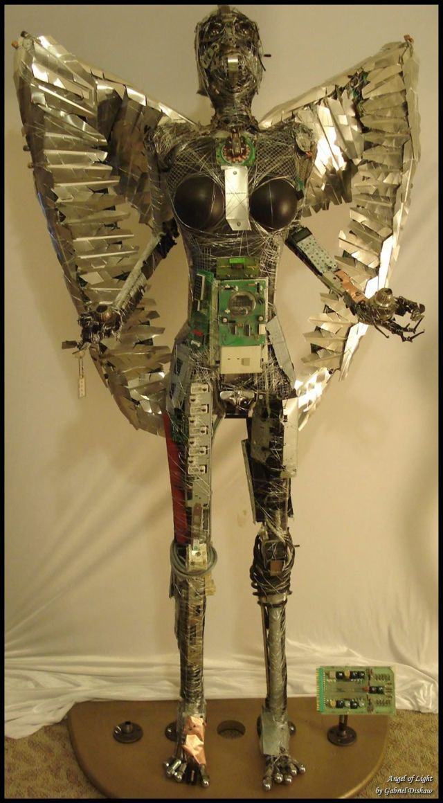 Cool junk sculptures by Gabriel Dishaw (50 pics)