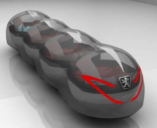 Peugeot eco car (12 pics)