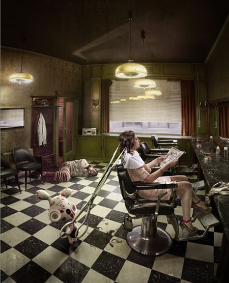 Creative works from Frieke Janssens (44 pics)