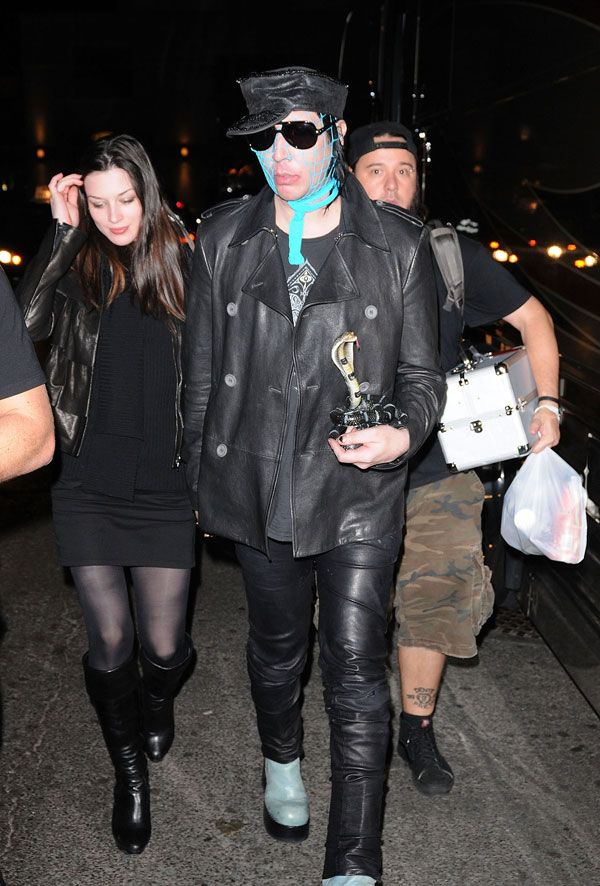 Marilyn Manson…no comments (8 pics)