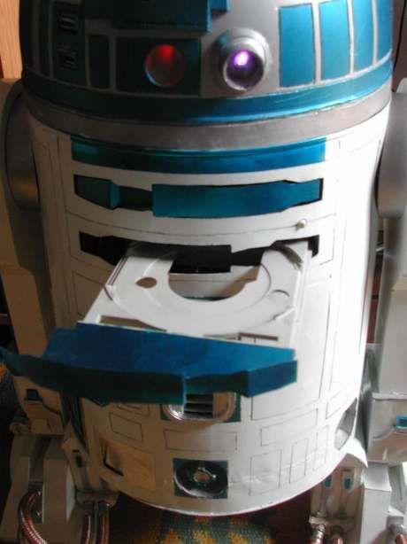 Star Wars R2D2 PC case mode (8 pics)