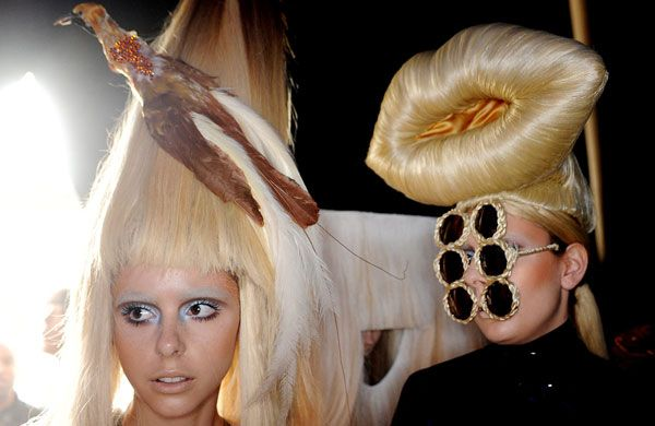 This hairy fashion show held in London is gonna make Lady Gaga jealous!