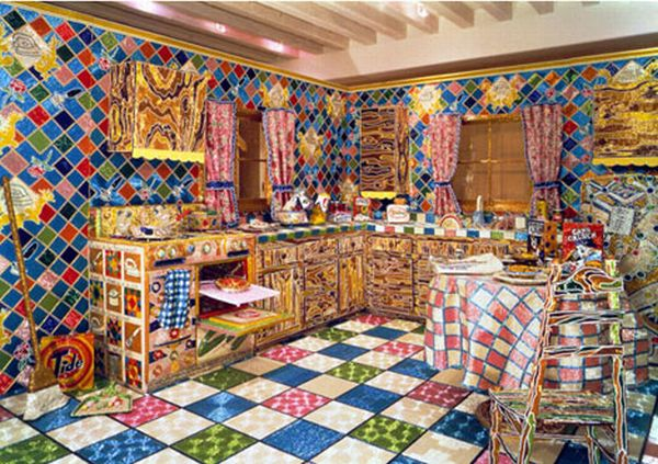 Dreamy kitchen covered with beads (15 pics)
