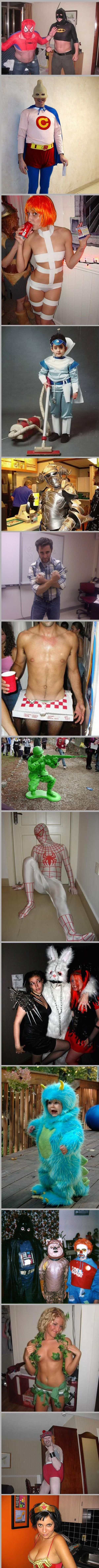 Weird and hilarious Halloween costumes (46 pics)