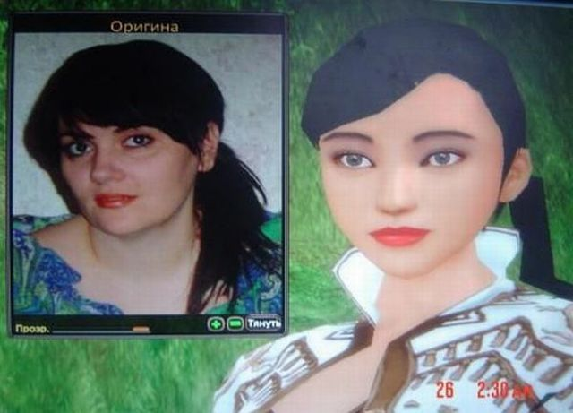Competition for the best resemblance to one of the online game character (39 pics)