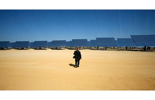 The Solucar solar power plant in Sanlucar la Mayor (10 pics)