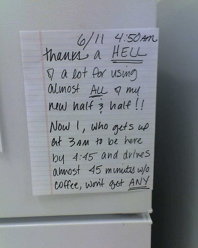 Funny office luch notes?!!! (25 pics) - Picture #3 ...