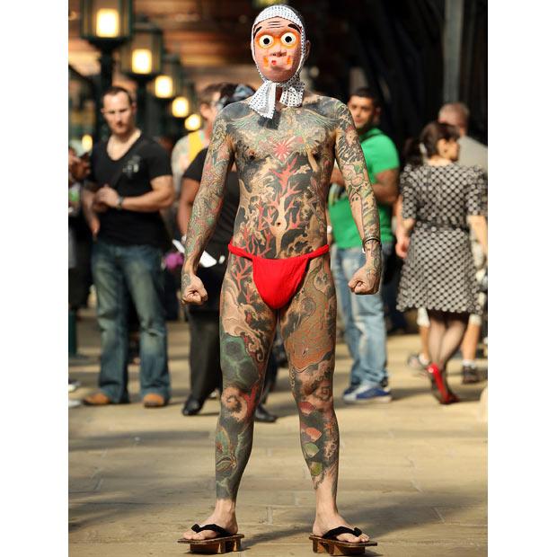 International London Tattoo Convention (17 pics)
