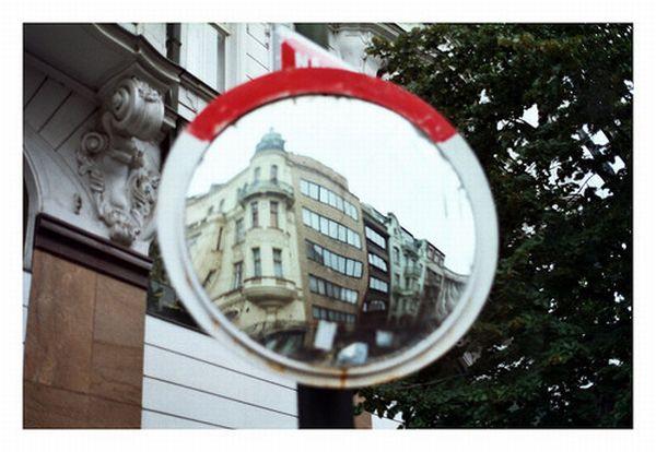 Street mirrors (35 pics)